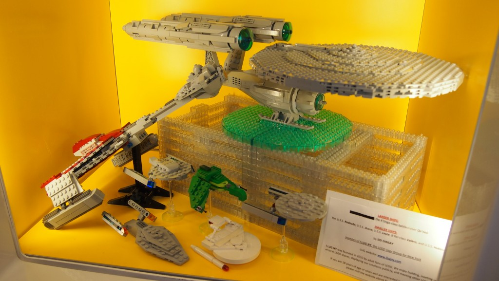 Star Trek Legos via I LUG NY