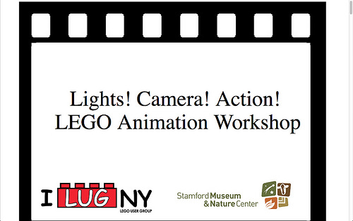 Lights! Camera! Action! LEGO Animation Workshop.