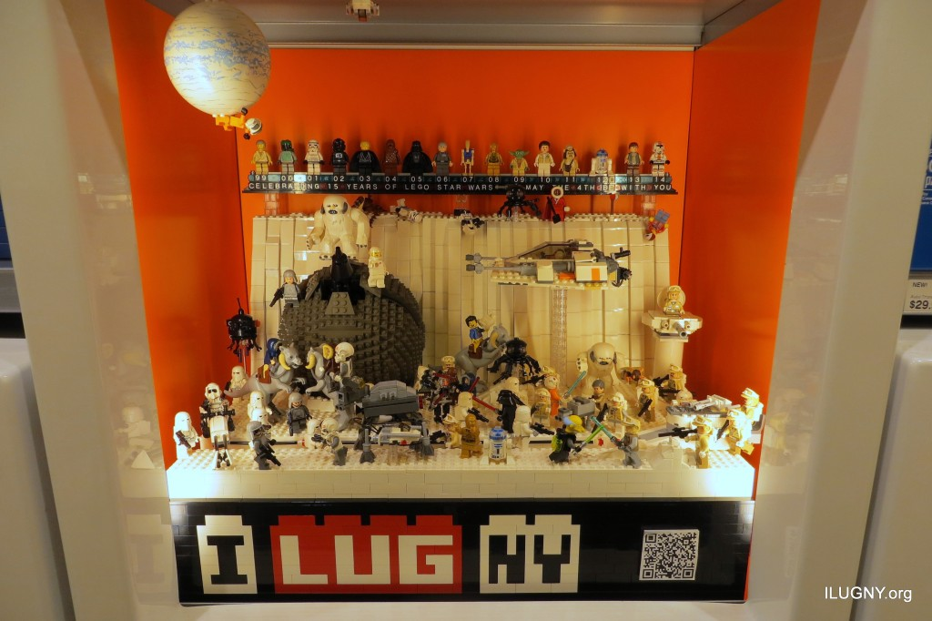 After 15 years of LEGO Star Wars, it was time for a party!