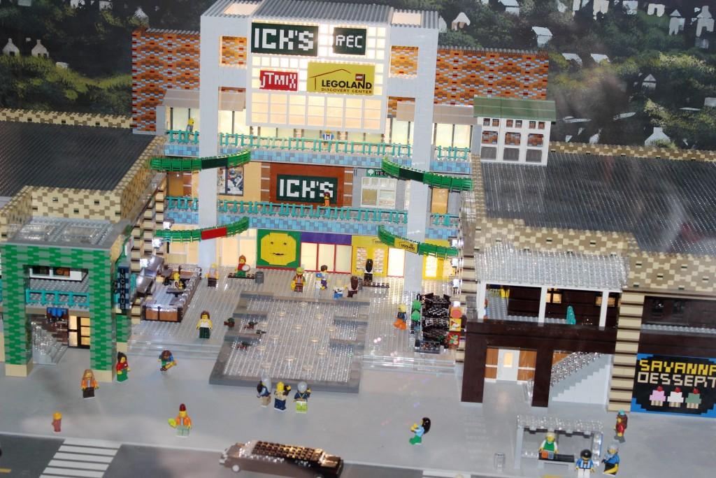 c ridge hill shopping center in lego
