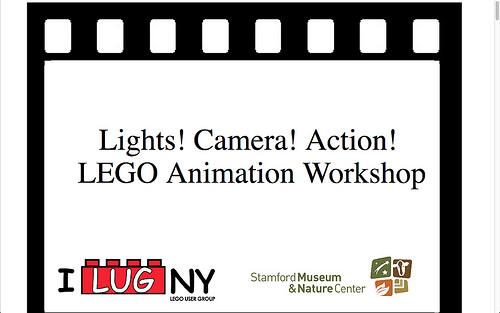 Lights! Camera! Action! LEGO Animation Workshop.