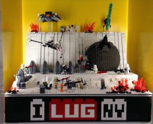 The Battle of Hoth at the LEGO Store in Westchester, NY (Jaunary 2013)