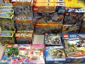 Some of the LEGO donated this week to North Shore University Hospital-Manhasset.